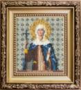 Набор для вышивки бисером Икона святая равноапостольная Нина