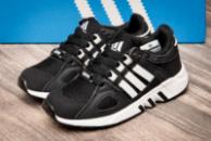 Кроссовки детские Adidas Equipment Running Support, черные (2541-3),  [  31 32 33  ]