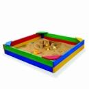 Песочниця «Крепость» деревянная размер 1.5 на 1.5 метра