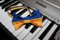 Галстук-бабочка желто-синяя флаг Украины