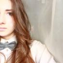 Галстук-бабочка из серого твида / Краватка-метелик з сірого твіда
