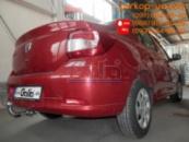 Тягово-сцепное устройство (фаркоп) Dacia Logan (sedan) (2013-2020)