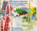 Детская зубная щетка Curamed Германия на батарейках в пенале