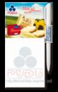 Рекламный магнитный блокнот с креплением для ручки