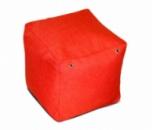 Пуфик кубик 35*35*35 см из микро-рогожки