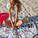 14-80 пляжний килимок коврик подстилка на пляж настенный гобелен декор