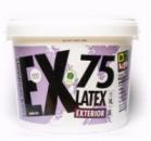 Краска белоснежно матовая, латексная, фасадная BeLife EX75, Расход: 220-250 г/ м.кв. в один слой, 10л(14кг)