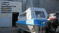 Тент на катер  лодку