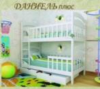Детская кровать ДАНИЕЛ ПЛЮС (двухъярусная)
