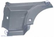 Корпус ступенек, крыло, левый (серый) MAN TGA XL-XXL