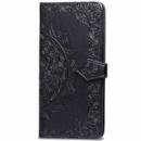 Кожаный чехол (книжка) Art Case с визитницей для Samsung Galaxy M20 Черный