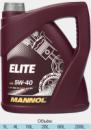 Масло моторноеMannol Elite 5W40