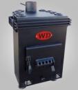 Печь-Булерьян для отопления дома вертикальный V-10