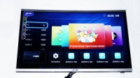 LCD LED Телевизор JPE 32« Изогнутый Smart TV, WiFi, 1Gb Ram, 4Gb Rom, T2, USB/SD, HDMI, VGA, Android 4.4 - Гарантия 1год
