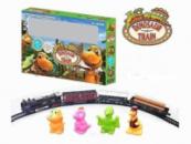 Детская игрушечная Железная Дорога «Динозавры»
