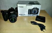 Зеркальный фотоаппарат Canon EOS 30D + китовский объектив