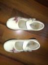 Туфлі білі лакові