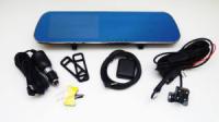 D22 Зеркало регистратор, 5« сенсор, 2 камеры, GPS навигатор, WiFI, 8Gb, Android