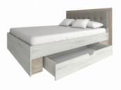 ліжко Мілана 1,6м(без шухляди, шухляда +700грн)