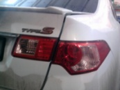 Тонировка задних фар Honda Accord