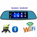 D35 Зеркало регистратор, 7« сенсор, 2 камеры, GPS навигатор, WiFi, 16Gb, Android, 3G
