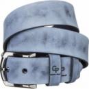 Ремень кожаный Grande Pelle Синий (11063)