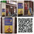 Печать на оракале с ламинацией и переклейкой лайт-бокса для магазина Світлиця в Днепропетровске