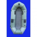 Надувная резиновая лодка «Стриж» с уключинами