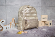 Рюкзак женские  Valensiy, золотой (90161) размеры в наличии ► [ 1  ]