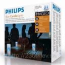 Свечи Philips imageo Candles голубые 3шт