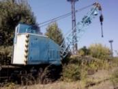 Кран железнодорожный, самоходный