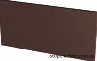Базoвая подступени плиткa гладкая NATURAL BROWN 30x14,8