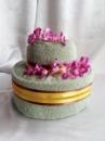 Торт из полотенец двухярусный №5