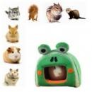 Животных Pet кролик Guinea Pig дом хомяк мультфильм крыса белка зимние теплые дом клетке Новинка пять цветов
