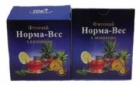 Фиточай № 3 Норма-вес с ананасом 20 пакетов по 1,5 г