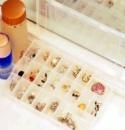Пластиковый органайзер для бижутерии, бусин, бисера (24 ячейки)