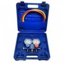 Манометрический коллектор заправочный 2-вентильный Value VMG-2-R22-B
