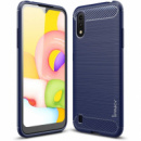 TPU чехол iPaky Slim Series для Samsung Galaxy A01 Синий