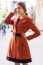 Пальто кашемировое коричневое