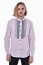 Вышитая мужская сорочка 2KOLYORY «Шепіт» M Белый (4003-M)