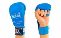 Накладки (перчатки) для карате Everlst синий