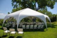 Шатер палатка «PARK 8» 8 метровая. Палатка для свадеб, мероприятий. шетстигранная. Киев