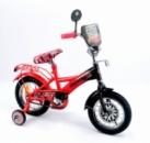 Велосипед 12« детский 151220 со звонком, зеркалом