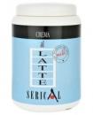 Serical Крем-маска ЛАТТЕ с молочным протеином для всех типов волос, 1000 мл