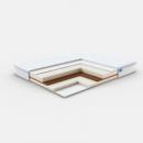 EGO COCOS безпружинний матрац з 2-ма рівнями жорсткості 160х200
