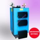 Твердотопливный котел «УкрТермо» серия 100, 15 кВт (автоматика и вентилятор в комплекте)