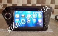 Штатная автомагнитола Kia Rio 2012 -2015 ( DVD. GPS, USB, Navitel ) 8« экран ёмкостный WIN CE 6.0