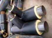 Тройник стальной для трубы 108/160 в ПЕ оболочке