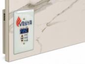 Керамический инфракрасный обогреватель VESTA ENERGY PRO 700 с программатором белый