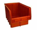 Ящики для метизов пластиковые оранжевые Арт. 700-О/лоток для крепежа,стеллажи для крепежа,контейнер ящик